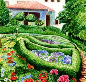 Красивые клумбы и цветники подбор